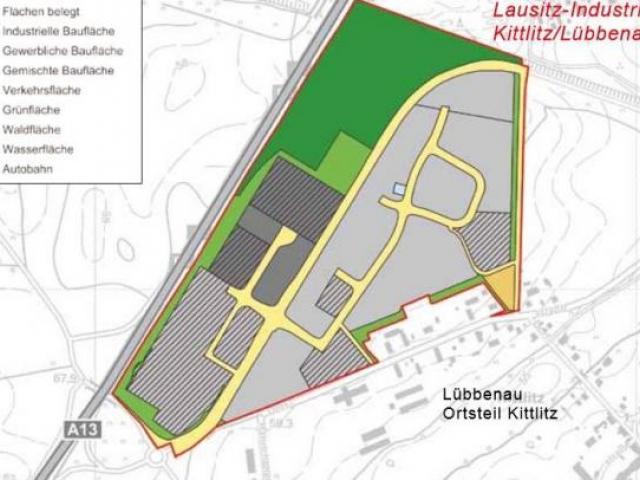 Gewerbegebiet »Lausitz-Industriepark Kittlitz«