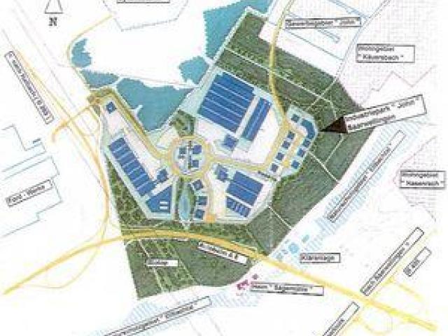 Industriegebiet »Industriepark Saarwellingen«