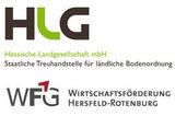 Logo Hessische Landgesellschaft mbH in Kooperation mit der Wirtschaftsförderung Hersfeld-Rotenburg