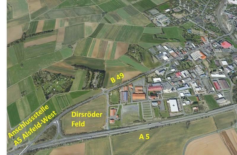 Gewerbegebiet »Dirsröder Feld Alsfeld«