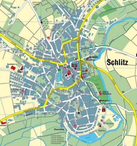Wohngebiet »Kernstadt Schlitz«