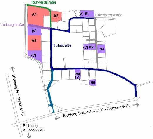 Gewerbegebiet »Gewerbe- und Industriegebiet Whyl«