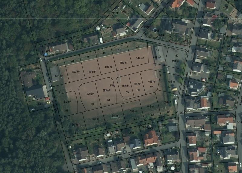 Wohngebiet »Unter dem Schlossberg«