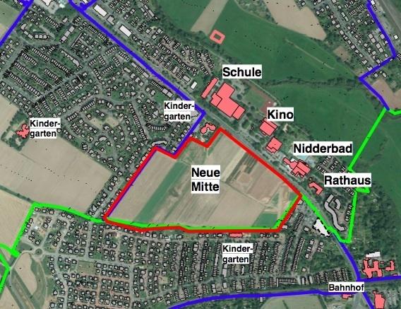 Wohngebiet »Neue Stadtmitte«