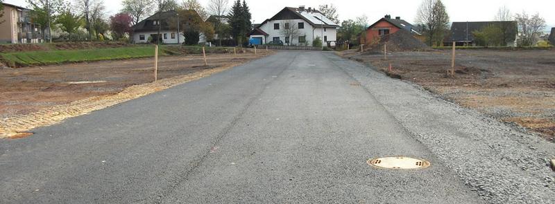 """Wohngebiet »""""Am Sportfeld / Rechts dem Mittelweg""""«"""