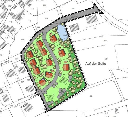 Wohngebiet »Absolut idyllisches Baugrundstück - nur 10 Minuten bis MR«