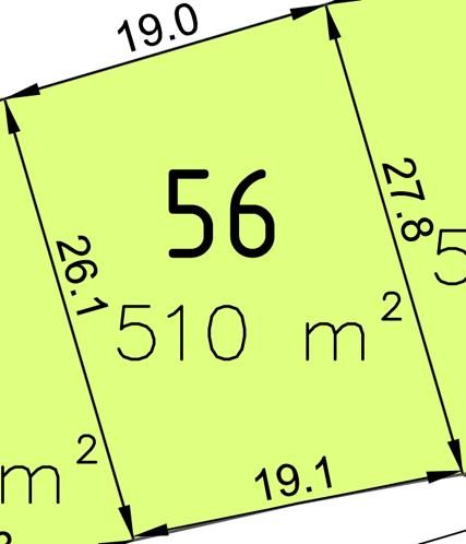 Bauplatz Nr. 56 im Wohngebiet Waldstraße III