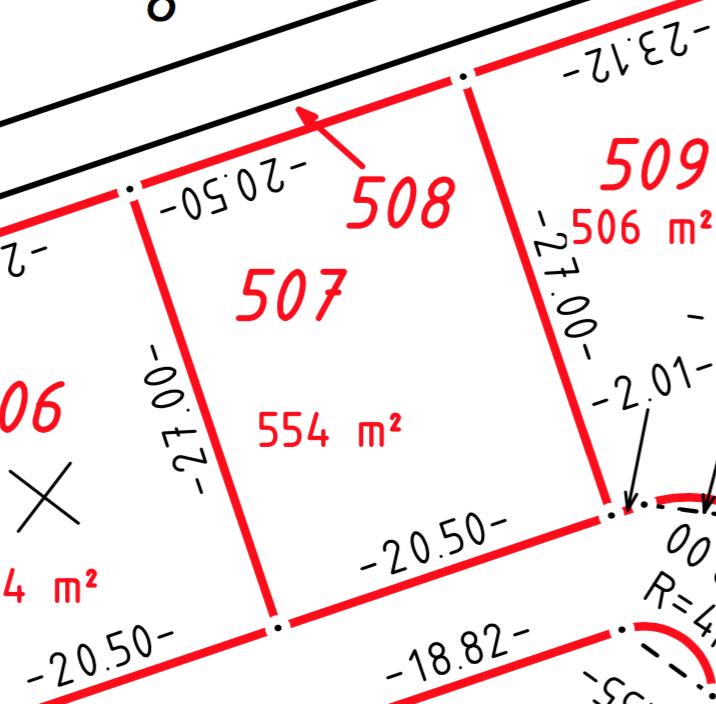 Bauplatz Nr. 507 im Wohngebiet Die Beune, Teil II