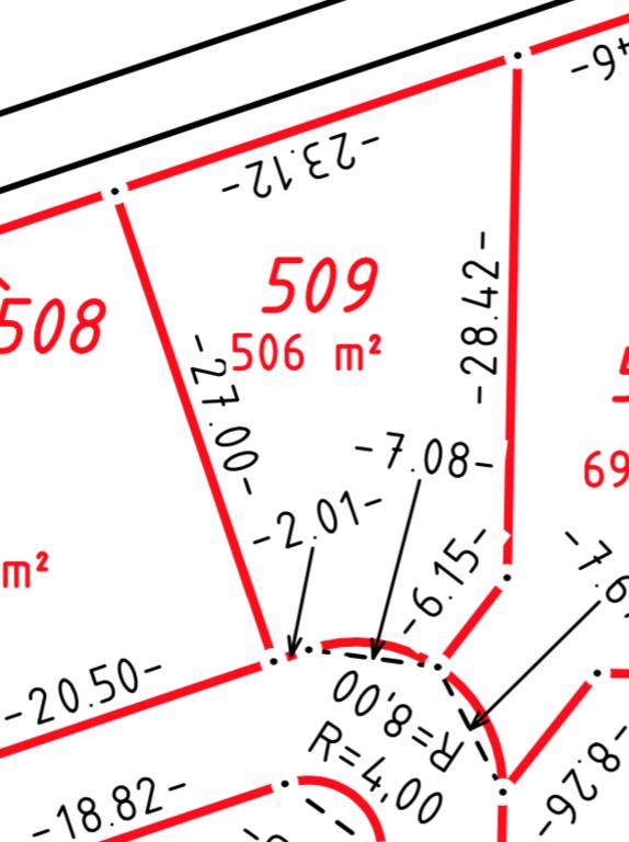 Bauplatz Nr. 509 im Wohngebiet Die Beune, Teil II