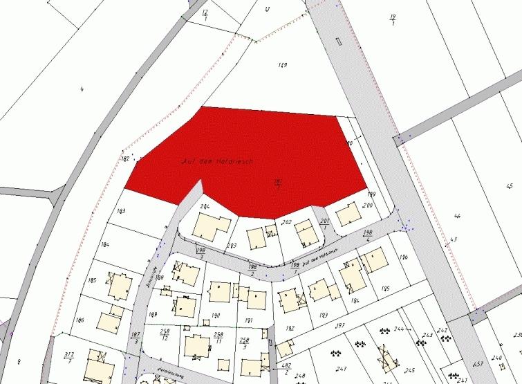 Wohngebiet »Baugebiet Auf dem Hofdriesch Laubach-Röthges«