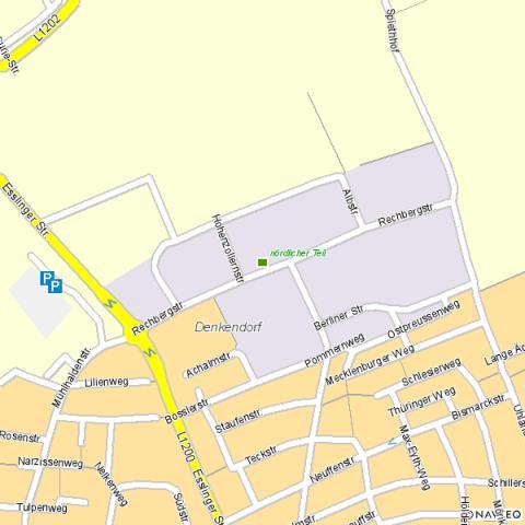 Gewerbegebiet »Rechbergstraße, nördlicher Teil«