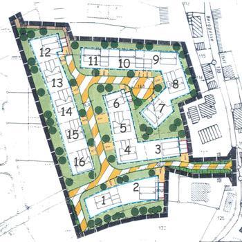 Grundstücksplan