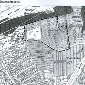 Wohngebiet »Hinter Holz, 1. BA«