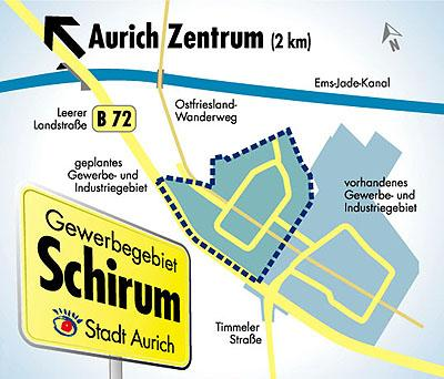 Gewerbegebiet »Schirum II«