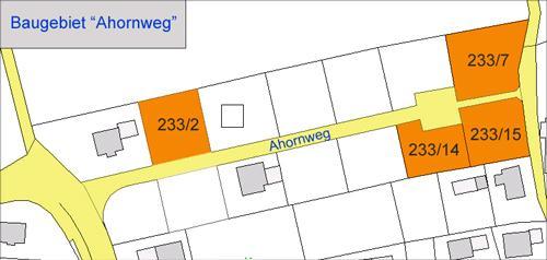 Wohngebiet »Ahornweg in Riedsend«