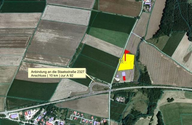 Gewerbegebiet »Griesbach - Nord (OT Griesbach)«