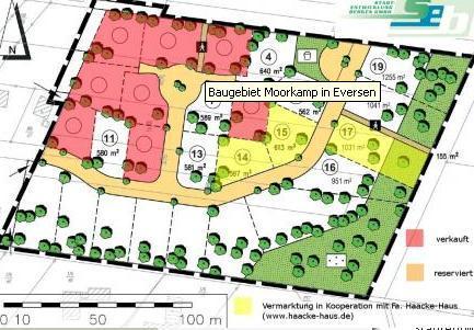 Wohngebiet »Moorkamp / Erweiterung«