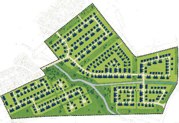Wohngebiet »Waagmühle «