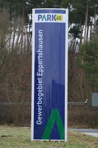 Park-Eingang