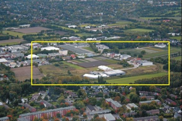 Gewerbegebiet »Gewerbegebiet Schenefeld, Achtern Teenbargen, B-Plan 51«