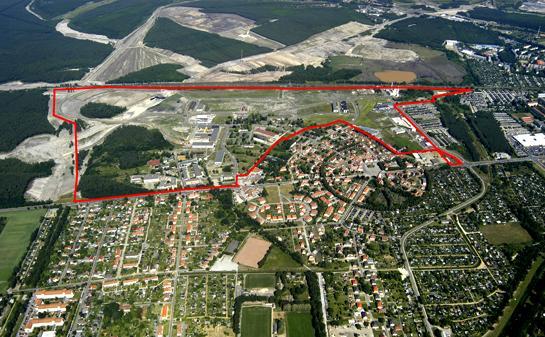 Gewerbegebiet »Lausitz-Industriepark Marga «