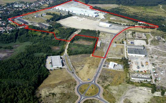 Gewerbegebiet »Lausitz-Industriepark Lauchhammer«