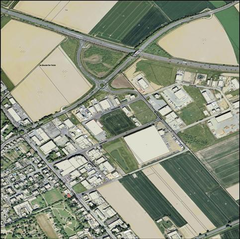 Gewerbegebiet »Gewerbegebiet zwischen der K 43 und B 55n (Elsdorfer Fließ)«