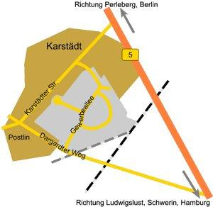 Gewerbegebiet »Karstädt/ Postlin«
