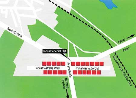 Industriegebiet »Industriegebiet Ost - Weißwasser«