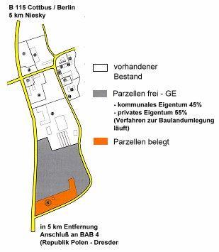 Gewerbegebiet »Gewerbegebiet Schulstraße - Jänkendorf«