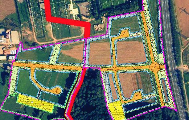 Gewerbegebiet »Umspannwerk A1 Interkommunal«