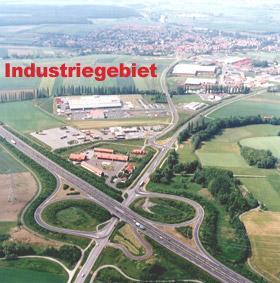 Industriegebiet »Industrie- und Gewerbegebiet Knetzgau«