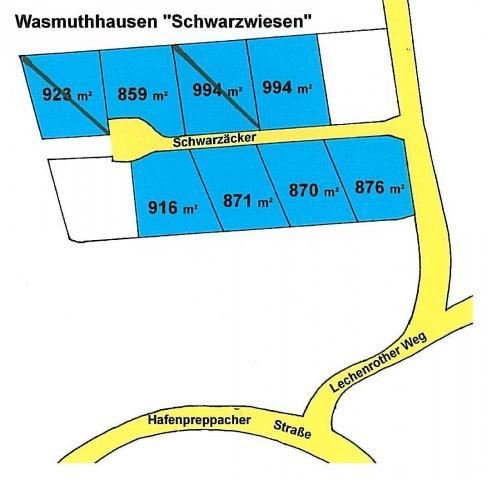 Wohngebiet »Schwarzwiesen in Wasmuthhausen«