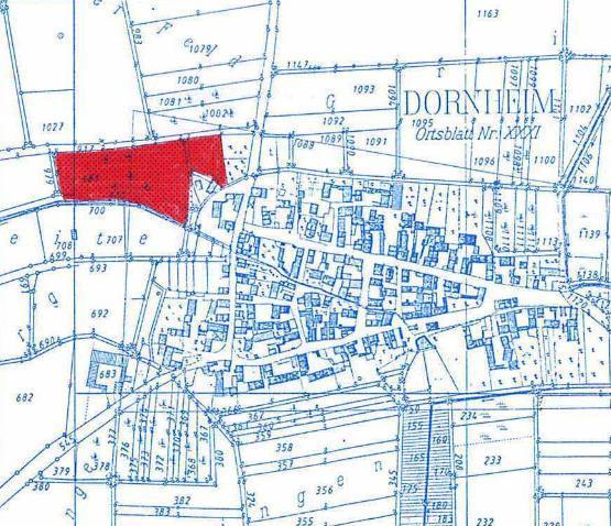 Wohngebiet »Dorfleite (Stadtteil Dornheim)«