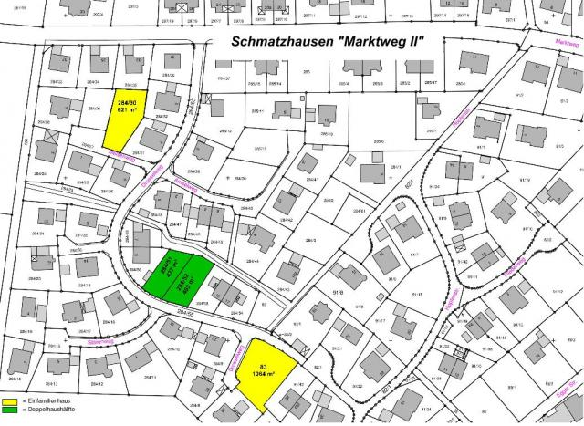 Wohngebiet »Marktweg II (Schmatzhausen)«