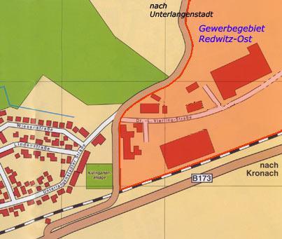 Gewerbegebiet »Redwitz - Ost«