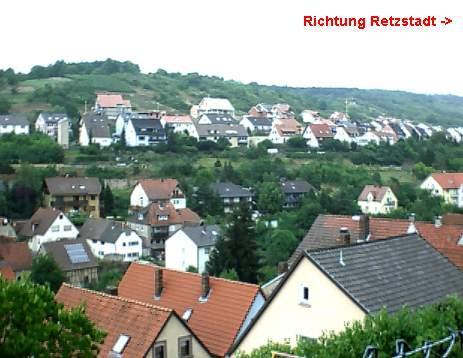 Wohngebiet »Rosenstraße (OT Retzbach)«