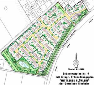 Wohngebiet »Mittleres Flürlein (Illesheim)«