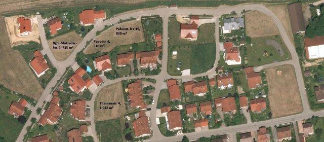 Wohngebiet »Dietersburg -Pabostraße, Thamanstraße, Bgm-Matzeder-Straße«