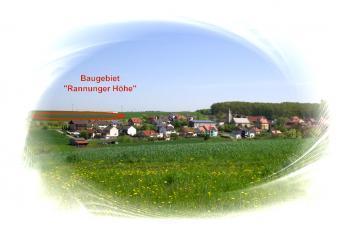 Wohngebiet »Rannunger Höhe, Pfändhausen«