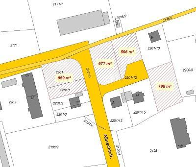 Wohngebiet »Bauflächen an der Albrechtstraße«