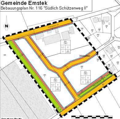 Wohngebiet »südlich des Schützenweges II«