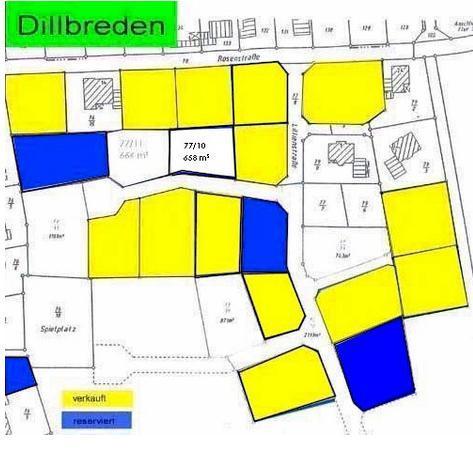 Wohngebiet »Dillbreden, Bauabschnitt I und II«