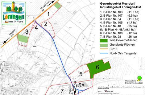Gewerbegebiet »GI Löningen-Ost und GG Am Mühlenbach-Ahrendvehn«