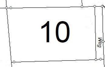 Bauplatz Nr. 10 im Mischgebiet An der Finkenhörne