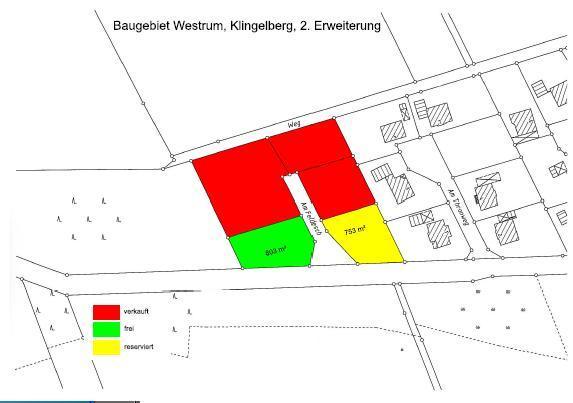 Wohngebiet »Westrum - Klingelberg 2. Erweiterung«