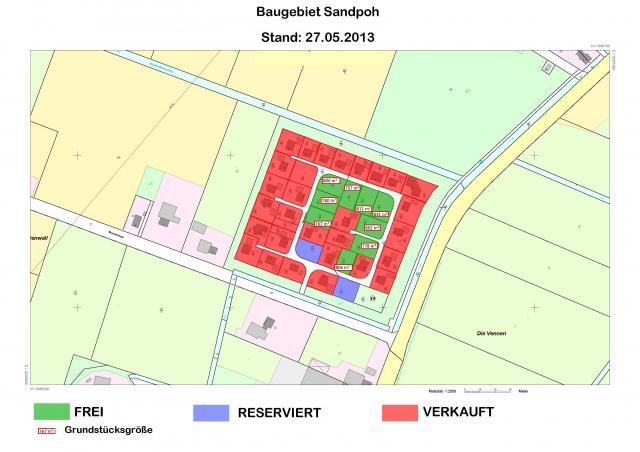 Wohngebiet »Sandpoh (OT Brual)«