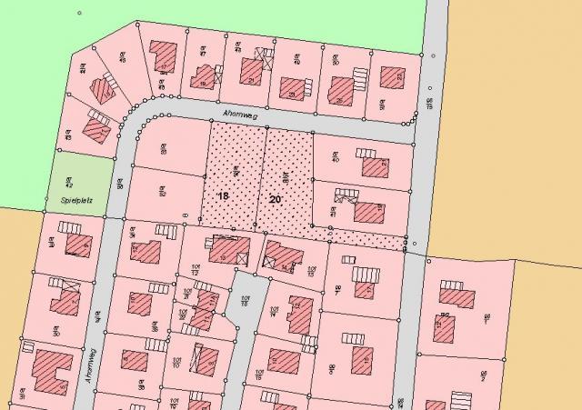 Wohngebiet »Ahornweg (OT Minsen)«