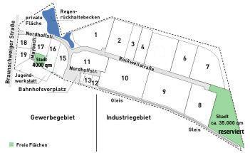 Gewerbegebiet »Gewerbe- und Industriegebiet Am Allerkanal«