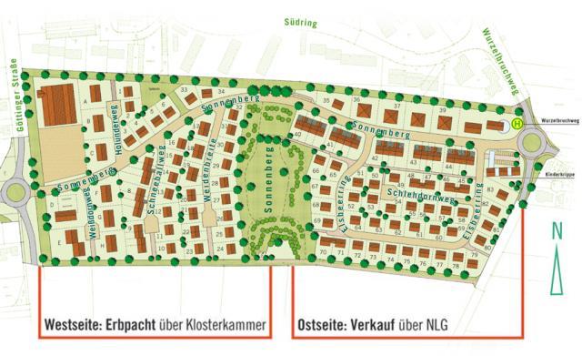 Wohngebiet »Sonnenberg (OT Bovenden)«